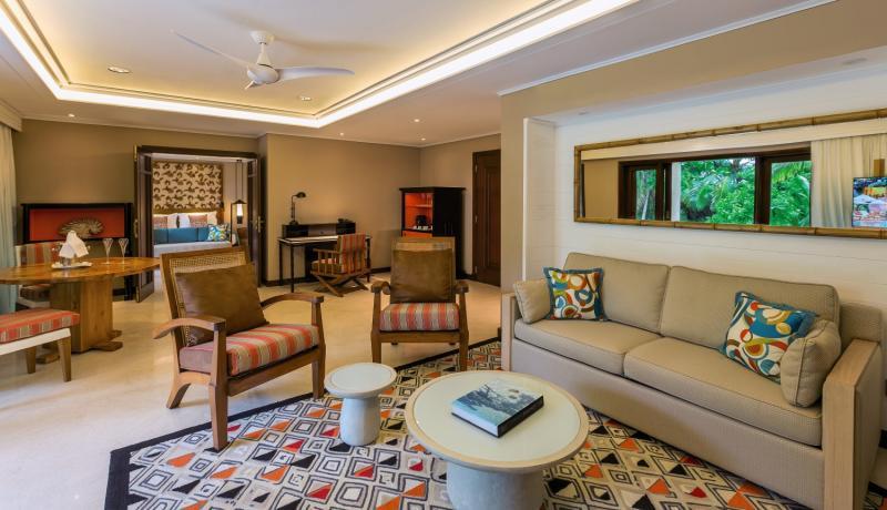 Constance Lemuria Praslin, Seychelles Lounge/Empfang