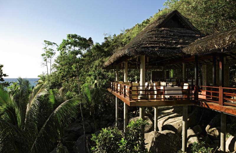 Constance Lemuria Praslin, Seychelles Terrasse
