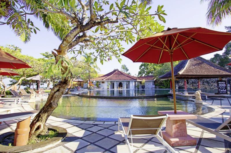 Keraton Jimbaran Resort Terrasse