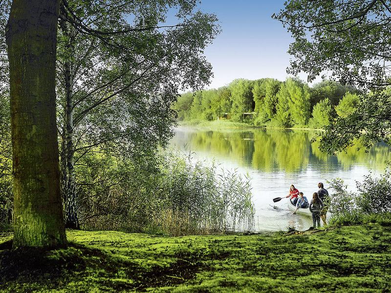 Center Parcs de Vossemeren Landschaft