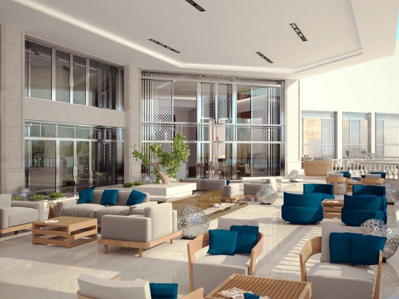 Tia Heights Makadi Bay Lounge/Empfang