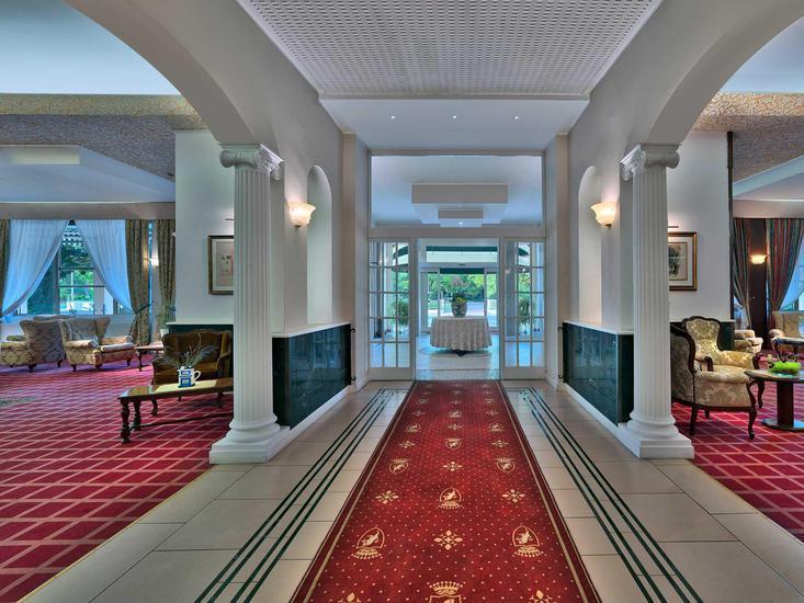 Hotel Terme Grand Torino Lounge/Empfang