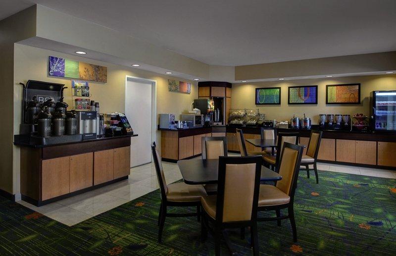 Fairfield Inn & Suites Denver Airport Frühstücksraum