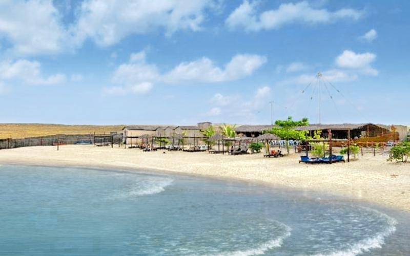 Ras Al Hadd Beach Strand
