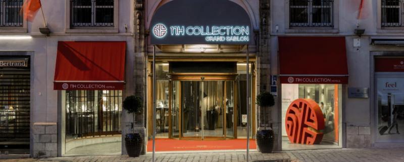 NH Collection Brussels Grand Sablon Außenaufnahme