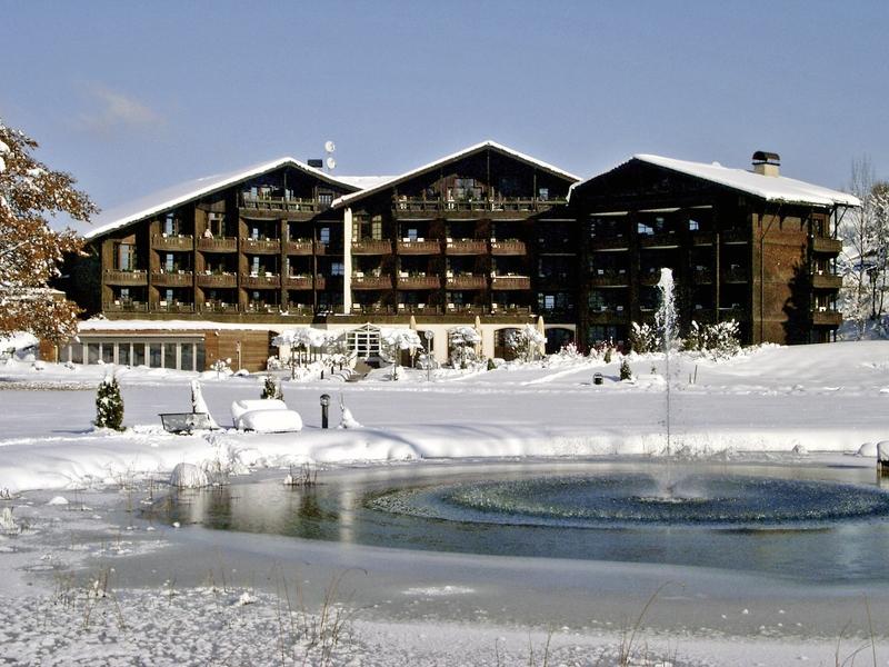 Lindner Parkhotel Außenaufnahme
