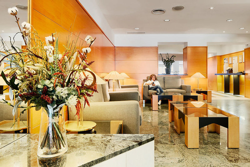 Hotel de l´Isard Lounge/Empfang