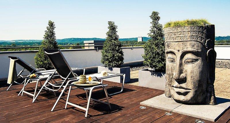 Victor´s Residenz Saarlouis Terrasse