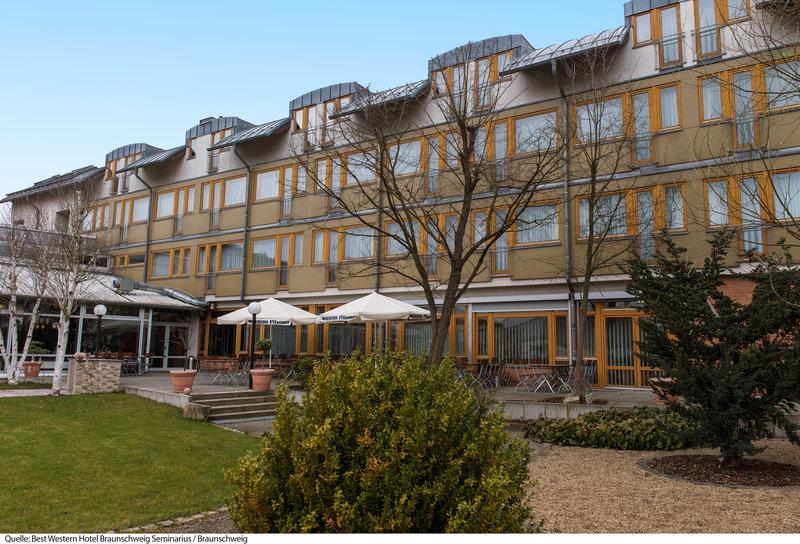 Best Western Hotel Braunschweig Seminarius Außenaufnahme
