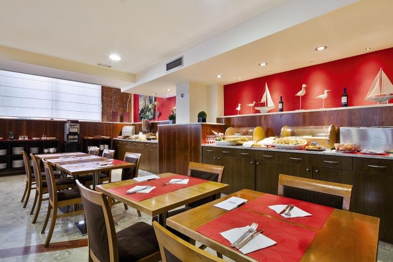 Aranea Barcelona Frühstücksraum