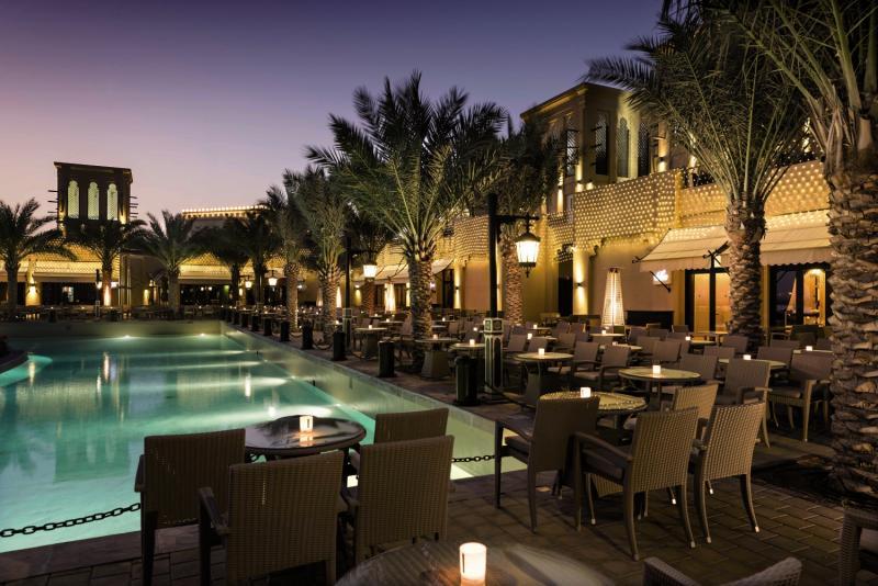 Rixos Bab Al Bahr Terrasse