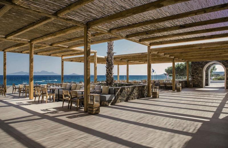 Mitsis Norida Beach Terrasse