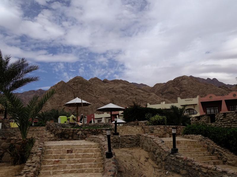 Tropitel Dahab Oasis Terrasse